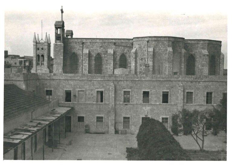 مبنى المعهد الإكليريكي في عام 1936